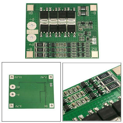3S 25A 12V Li-ion Lithium BMS 18650 Battery Charger Protection Board New GQG