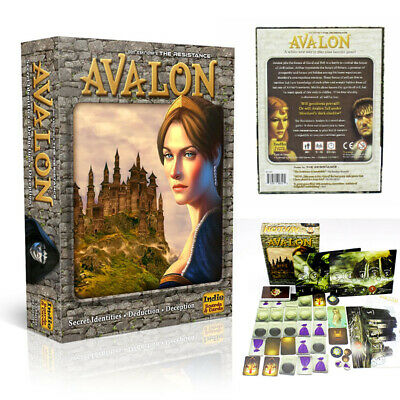 AU 1 Set Resistance Avalon Board Game Card Children's Educational Puzzle Game