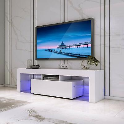 LED TV UNIT Modern Cabinet Stand Living Room Entertainment ...