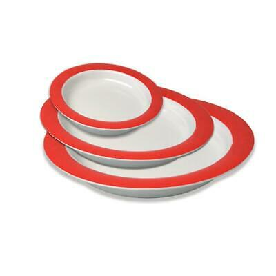 Vital Adaptive Plate& & Bowl Eating Utensils Aid -For Dementia & Vision Impaired