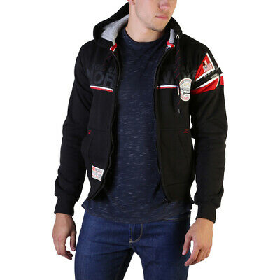 Felpe Geographical Norway Faponie100_man Uomo Nero 102587