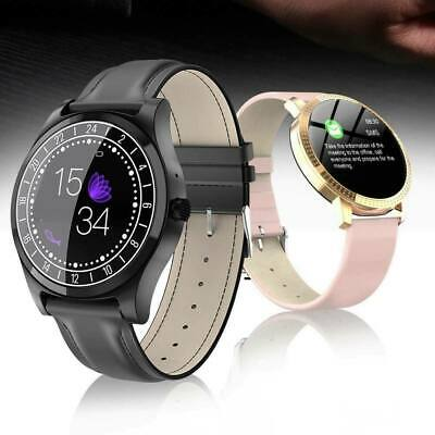 Waterproof Fitness Smart Watch Tracker Blood Pressure Heart Rate Tempered Mirror