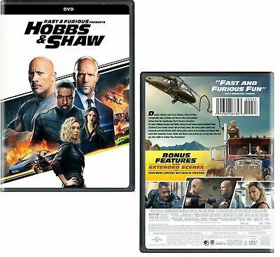 Hobbs and Shaw Fast and Furious DVD [Brand New]