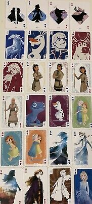 Collection Complète 72 Cartes La Reine Des Neiges Carrefour Disney Panini Frozen