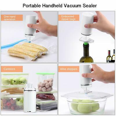 Movaty Mini Vacuum Sealer Outdoor Carry Easily Rechargeable Food Saver Vacuum Se