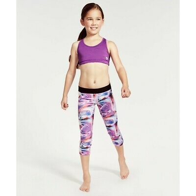Soffe sport leggings and matching reversible bra/sports top girls XL (age 12-14)