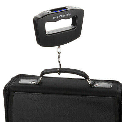 Portable Luggage Weight Scales 50kg Weights Suitcase Bag Baggage Travel Scale