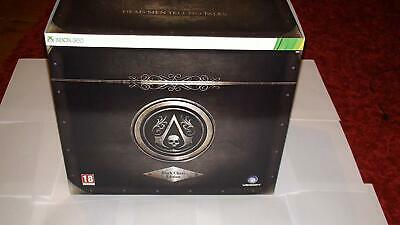 **RARE***Assassins Creed Black Flag Black Chest Edition Xbox 360