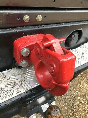Land Rover Dixon Bate Brand NATO Towing Pintle Hitch - NRC2051