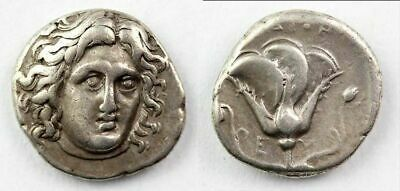 *Sc* Fine Greek Rhodos Silver Didrachm, 4Th.-3Th. Century Ad