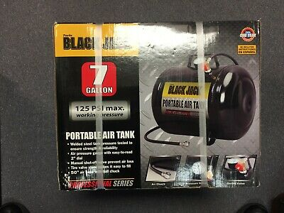 Torin Black Jack Portable Air Tank 7 Gallon T88007W