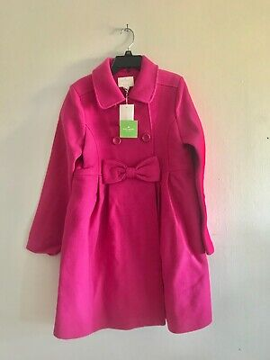 *NWT* Kate spade girls jacket coat kids size 164/14Y pink