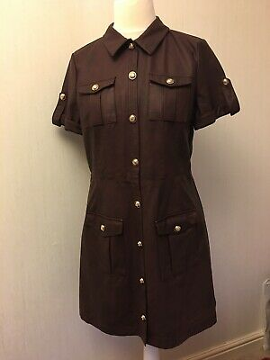 Super Soft Faux Leather Short Sleeve Size small 16 Oxblood Dress by River Island