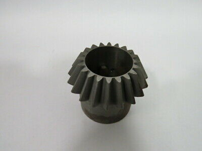 "Martin BS820-2 Bevel Pinion Gear 1""ID 2-1/8""Hub Dia. 2-9/32""W 20T 8DP  USED"