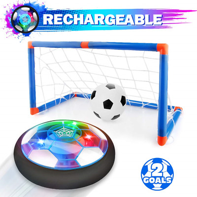 Growsland Kids Toys Hover Soccer Ball with Goal Set Gift Boys Girls Age Year Old