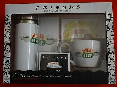 New Friends TV Show Series Gift Set: Travel & Coffee Mugs, Trivia Game, Magnets+