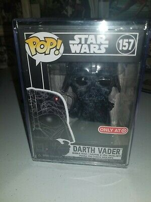 Funko Pop Futura X Star Wars Darth Vader #157 Target Exclusive With Hard Stack