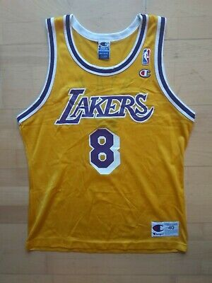 NEUW Kobe Bryant Rookie Champion NBA Basketball Trikot Jersey LA Lakers Sz. 40
