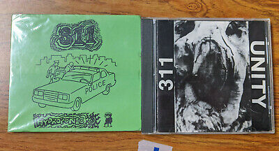 LOT OF 2 ULTRA RARE 311 CD Collection w/ Unity & Hydroponic GREAT CONDITION
