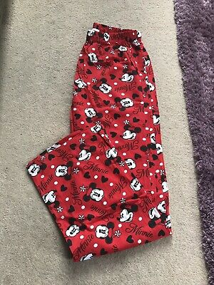Girls Disney Minnie Mouse Red Lounge Pants Age 13 Years