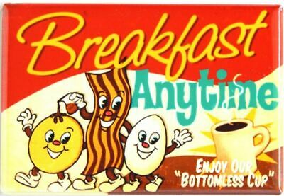 and Coffee FRIDGE MAGNET breakfast sign Bacon Eggs