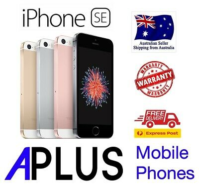 iPhone SE 16GB/32GB/64GB 100% GENUINE AND WORKING (FREE EXPRESS SHIPPING)
