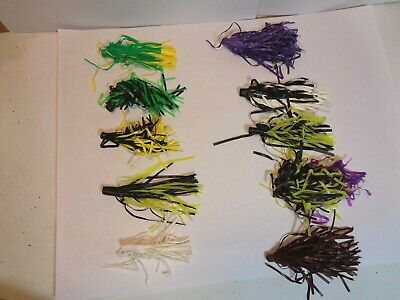 "Vinyl Hula Popper Skirt Assortment #2 18 Count 2/""--/>3/"" New Other//Vintage"