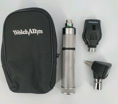 "Welch Allyn Student Diagnostic Set Otoscope Ophthalmoscope - ""C"" Battery Handle"
