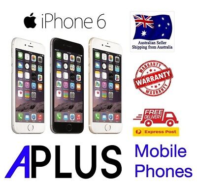 iPhone 6 16GB/32GB/64GB/128GB 100% GENUINE (FREE EXPRESS SHIPPING) - AS NEW