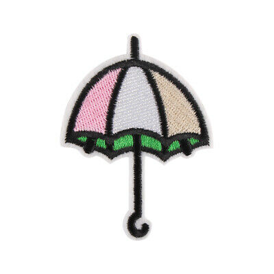 """New Umbrella Embroidered Iron/Sew ON Patch for Clothes Decoration 2x2.8"""""""