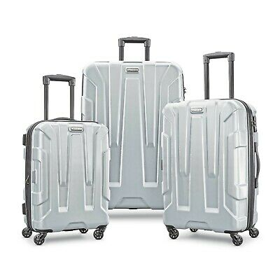 Samsonite Centric 3 Piece Set-Silver color