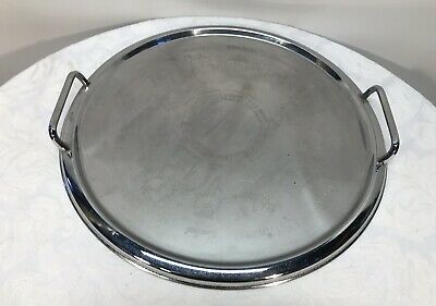 Ranleigh Round Silver Tray - Cheers From Around The World Images - 34cm Wide