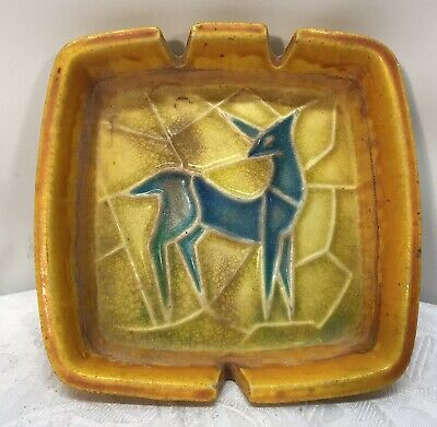 Retro/Vintage Ashtray With Deer