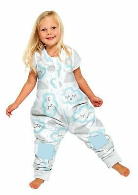 Baby Studio Coolies 1.0 Tog Clouds Peppermint 2-3 Years