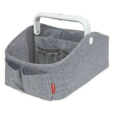 Skip Hop Light Up Nappy Caddy - Grey