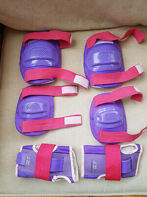 Girls protecttve guards/ gear for rollerblading - approx Age 8 - 10 years