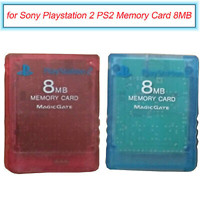 8MB Memory Card Expansion Card Spare for Sony Playstation 2 PS2 Game Consoles