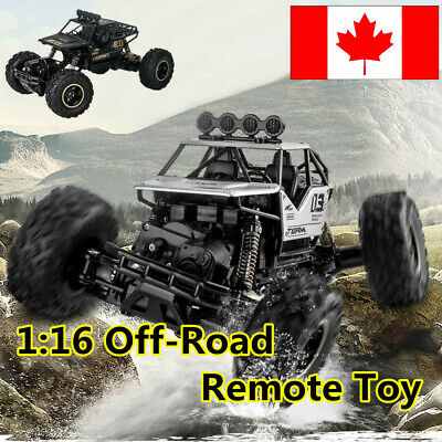 1:16 2.4G High Speed RC Monster Truck Remote Control Off Road Car RTR Toy New·CA
