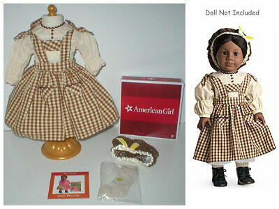 """RARE American Girl ADDY'S BIRTHDAY OUTFIT Set for 18"""" Dolls Complete with Box"""