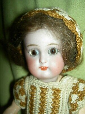 Darling early antique bisque, Kammer & Reinhardt, Simon & Halbig 19, German doll