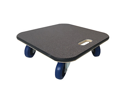 48x48 Carpet-Topped Furniture Skate Dolly Moving Trolley 600kg LC 10cm wheels