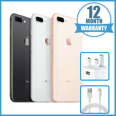 Apple iPhone 8 Plus 64GB 256GB - Unlocked - All Colours - 12 Months Warranty