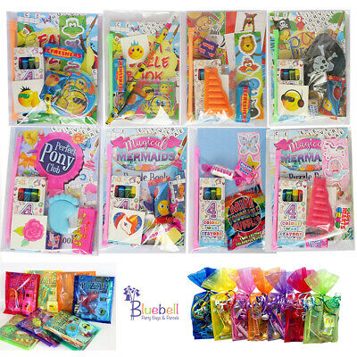 Pre Filled Party Bags Parcels - Children's Ready Made Kids Birthday Bag Fillers