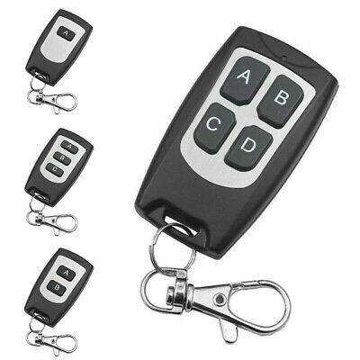 1 X Universal Replace Garage Door Car Gate Cloning Remote Control Key Fob 433MHz