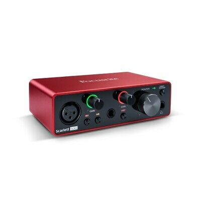 Focusrite Scarlett Solo 2x2 USB Audio Interface 3rd Gen Manufacturer B-Stock