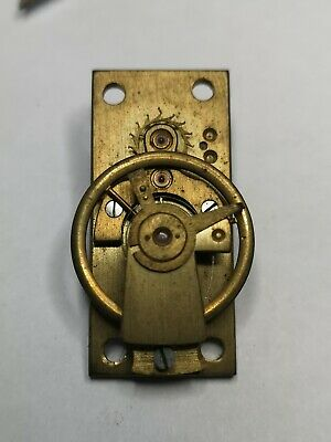 Vintage Clock Platform Escapement 18.40mm X 39.86mm Spares Or Repair (E8)