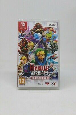 Hyrule Warriors: Definitive Edition Nintendo Switch New