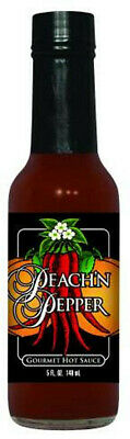 Peach 'n Pepper Hot Sauce 5oz.The perfect Valentine's Day Gift