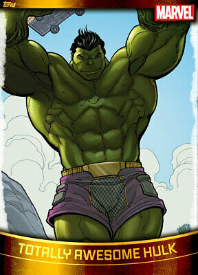 Topps Marvel Collect Totally Awesome Hulk GOLD DECADES 2010s [DIGITAL CARD] 750c