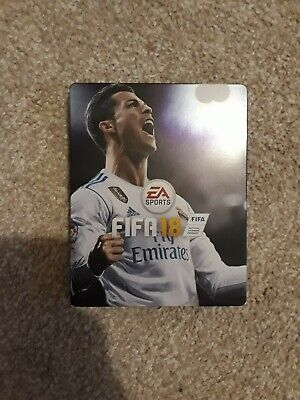 Fifa 18 Team Ronaldo Steelbook (NO GAME) for PS4 or XBOX ONE